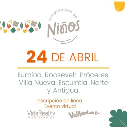Presentación Virtual de Niños.